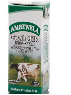 ambewela fresh milk
